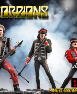 Scorpions Rock Iconz Statue 3-Pack Limited Edition 23 cm