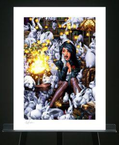 DC Comics Art Print Zatanna 46 x 61 cm - unframed
