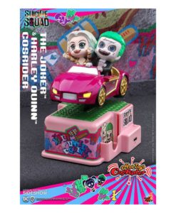 Suicide Squad CosRider Mini Figure with Sound & Light Up The Joker & Harley Quinn 13 cm