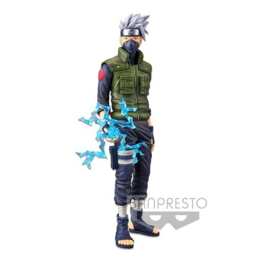 Naruto Shippuden Grandista nero PVC Statue Hatake Kakashi 29 cm