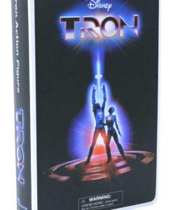 Tron Deluxe Action Figure VHS Box Set SDCC 2020 Exclusive 18 cm
