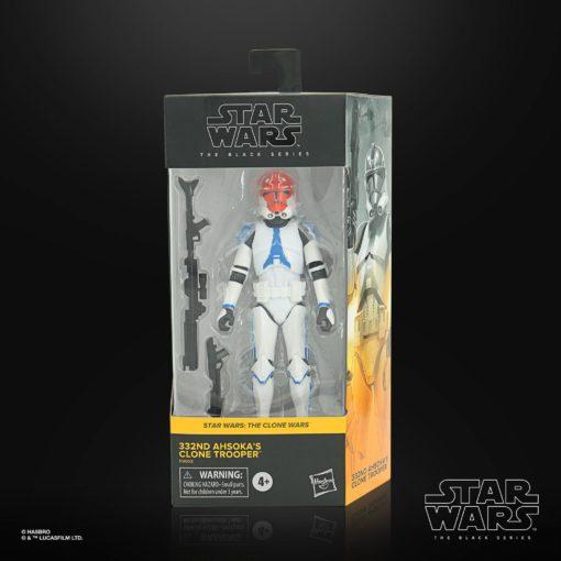 Star Wars The Clone Wars Black Series Action Figure 2020 332nd Ahsoka's Clone Trooper 15 cm