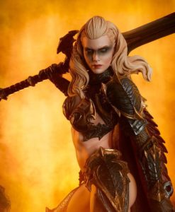 Sideshow Originals Statue Dragon Slayer: Warrior Forged in Flame 47 cm