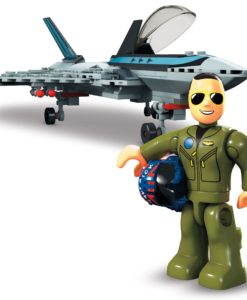 Top Gun: Maverick Mega Construx Wonder Builders Construction Set Boeing F/A-18E Super Hornet
