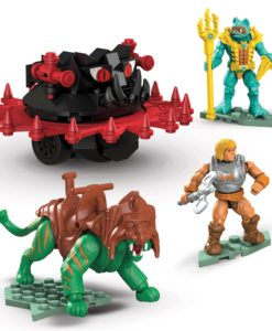 Masters of the Universe Mega Construx Probuilders Construction Set Battle Cat vs. Roton