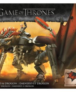 Game of Thrones Mega Construx Black Series Construction Set Daenerys & Drogon