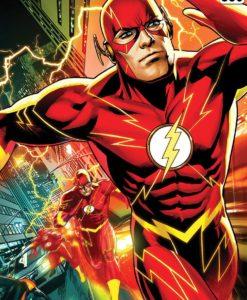 DC Comics Art Print The Flash 46 x 61 cm - unframed