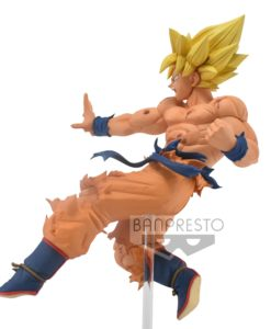 Dragon Ball Super Drawn By Toyotaro PVC Statue Father- Son Kamehameha Son Goku 16 cm