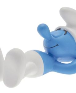 The Smurfs Collector Collection Statue Lazy Smurf 15 cm