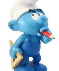 The Smurfs Collector Collection Statue Handy Smurf 15 cm