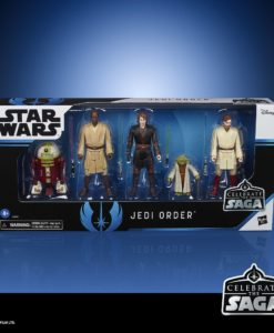 Star Wars Celebrate the Saga Action Figures 5-Pack The Jedi Order 10 cm