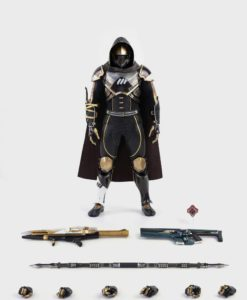 Destiny 2 Action Figure 1/6 Hunter Sovereign Golden Trace Shader 30 cm