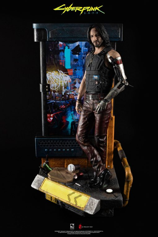 Cyberpunk 2077 Statue 1/4 Johnny Silverhand 34 cm