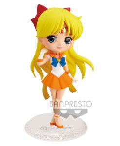 Sailor Moon Eternal The Movie Q Posket Mini Figure Super Sailor Venus Ver. A 14 cm
