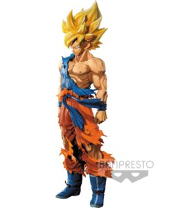Dragonball Z Master Stars Piece Figure Super Saiyan Goku Manga Dimensions 34 cm