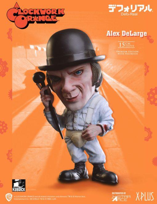 A Clockwork Orange Defo-Real Series Statue Alex DeLarge 15 cm