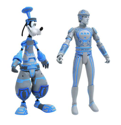 Kingdom Hearts Select Action Figures 2-Pack Goofy & Tron 18 cm