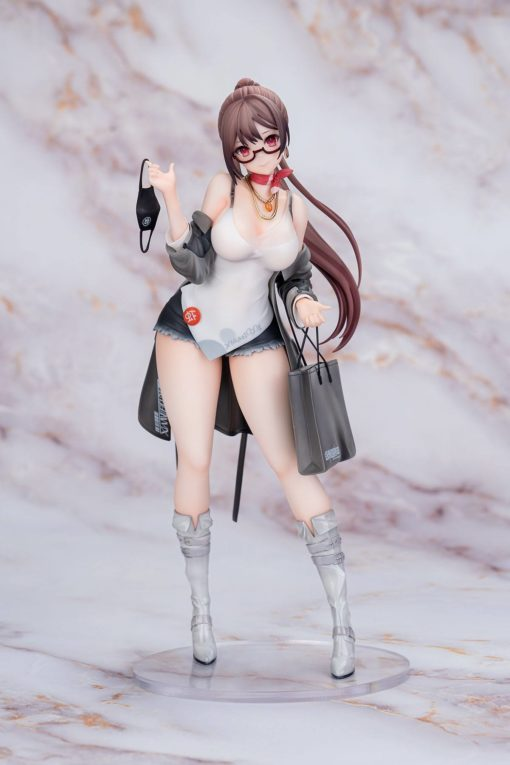 Original Character PVC Statue 1/7 Xiami 4th Anniversary At First Sight Grey Ver. 25 cm