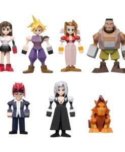 Final Fantasy VII Polygon Figures 4 - 6 cm Assortment (8)