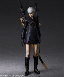NieR Automata Play Arts Kai Action Figure YoRHa No. 9 Type S Deluxe Ver. 24 cm